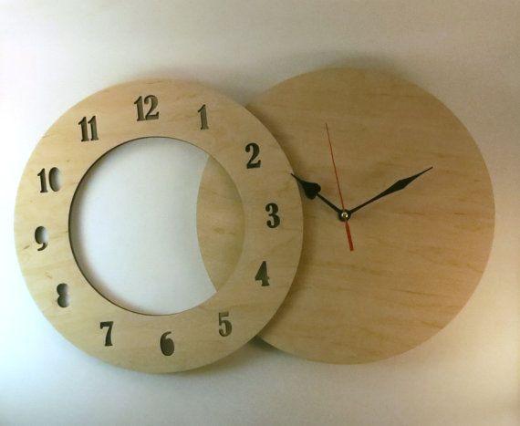 Wall Clock Kit 12 Quot 30cm Diy Kit Wood Diy Kit Clock Wood Unfinished Clock Clock Movement Wall Clock Kits Diy Kits Wall Clock