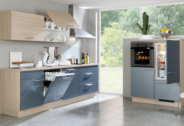 Küche in hellblau singleküche www dyk360 kuechen de