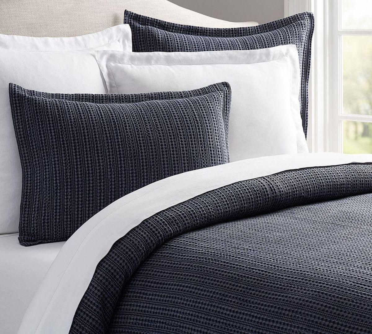 Honeycomb quilt cover u pillowcases pottery barn au harvard st
