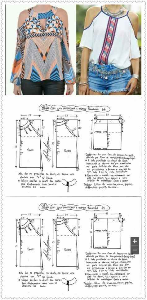 Pin by Kitty He on making designs | Pinterest | Costura, Blusas and ...