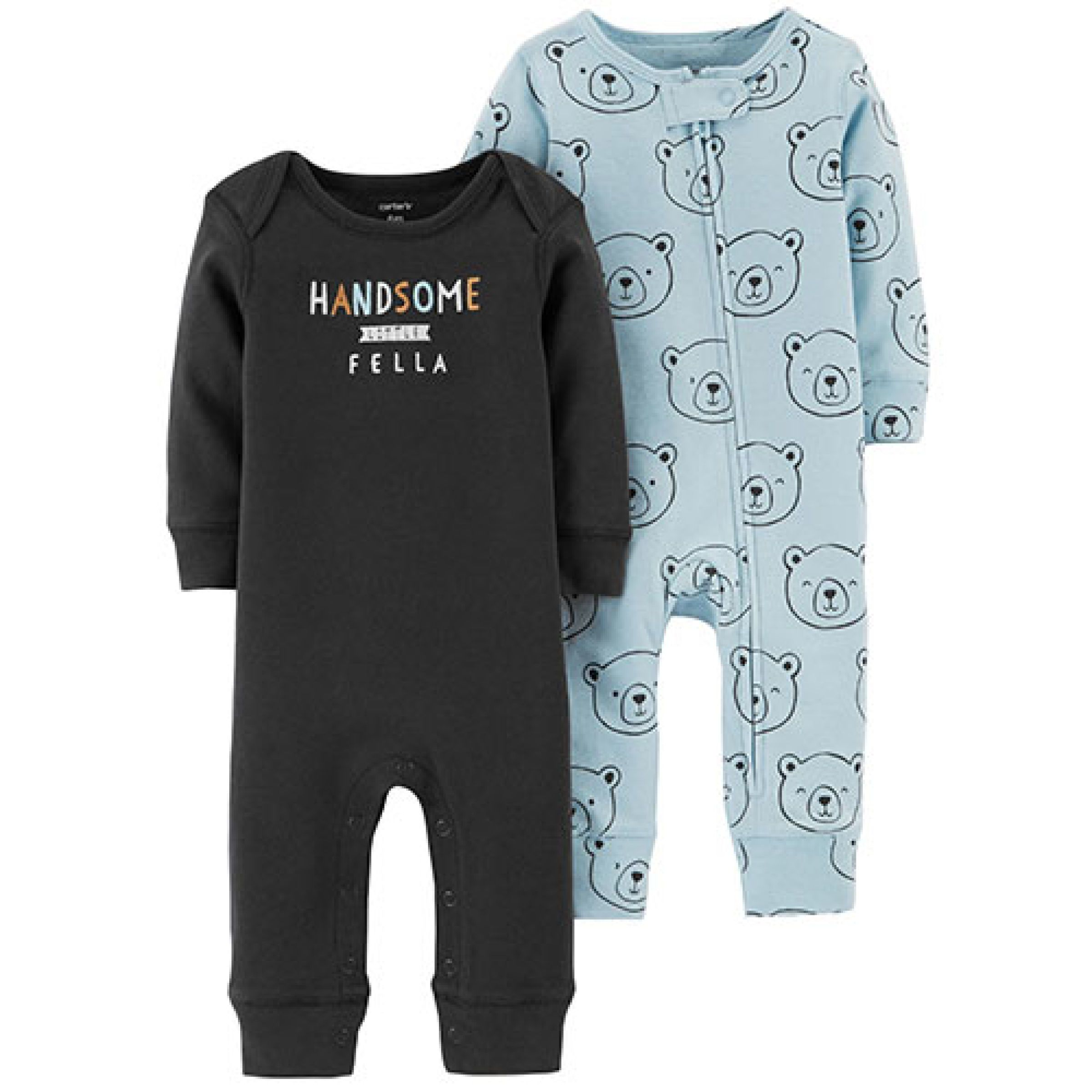 b4c9adfe5 Baby Boy (0-9M) Carter s  Handsome Fella Bear Coverall Set