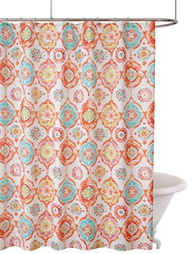 Fiesta Ava Shower Curtain No Size Details Can Be Found By Clicking On The Image