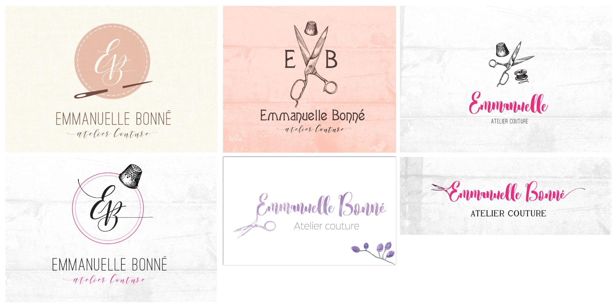 Recherche De Logo Couture Identite Visuelle Branding Graphisme Logotype Carte