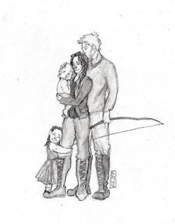 baby quote quotes My art Fanart The Hunger Games THG