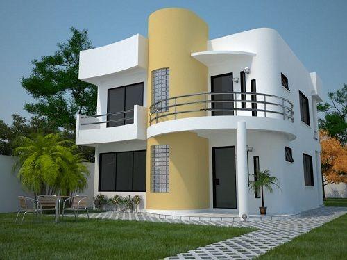 Modelos de casas modernas fotos ku e moderne - Modelos de casas modernas ...