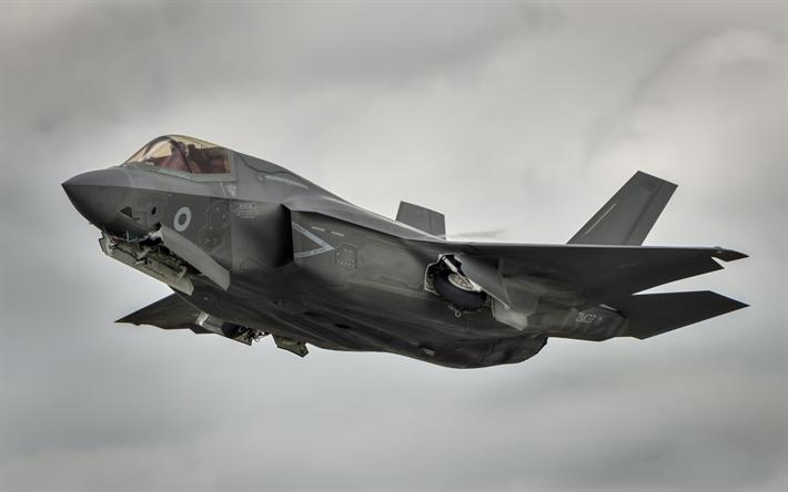 Download wallpapers Lockheed Martin F35 Lightning II, F
