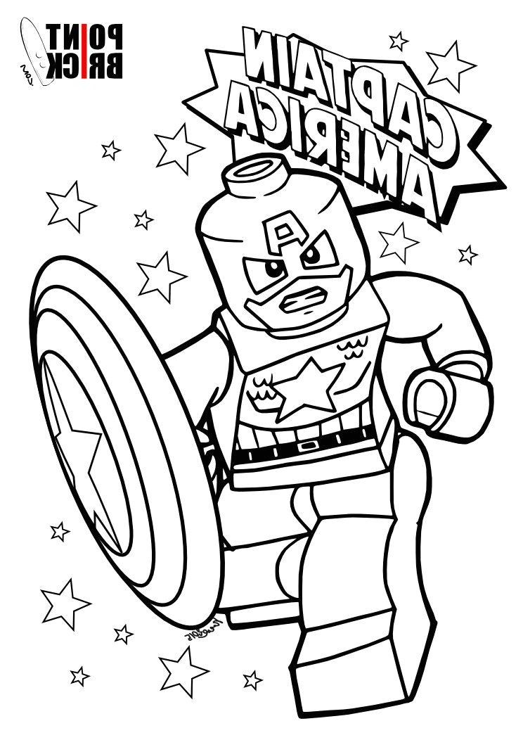 Coloriage Lego Marvel Super Heros Coloriagegratuitlegominecraft
