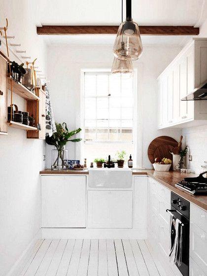 Kleine Schmale Küche Einrichten | Kleine Kuche Einrichten Die 5 Besten Tipps Tricks Stylight