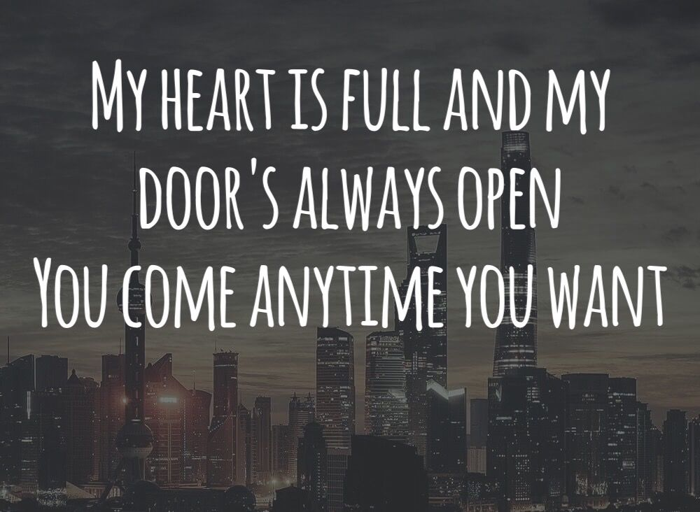 She will be loved -Maroon 5