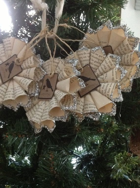 Primitive Christmas Craft Ideas Part - 20: Primitive Christmas Decorating Ideas | Christmas Tree Decorations Ornaments  Primitive Crow ... | Christmas
