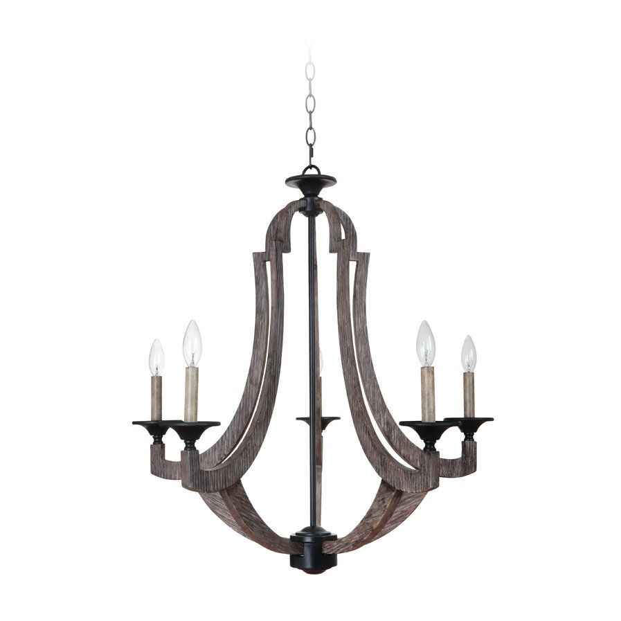 Marcoux 5 Light Candle Style Chandelier