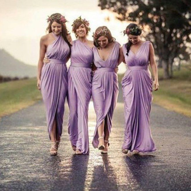 879dcd9f9d Find More Bridesmaid Dresses Information about Purple Chiffon Long ...