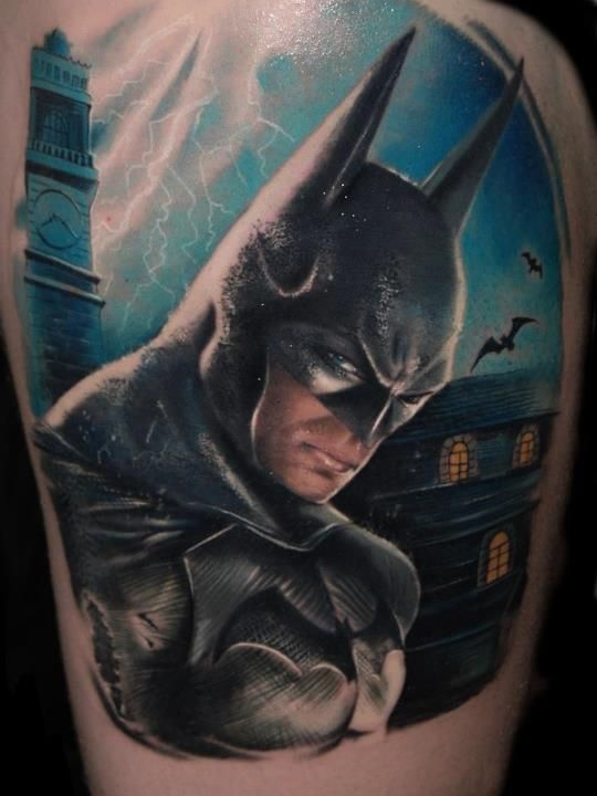 The Dark Knight Tattoo Batman Tattoo Batman Tattoos