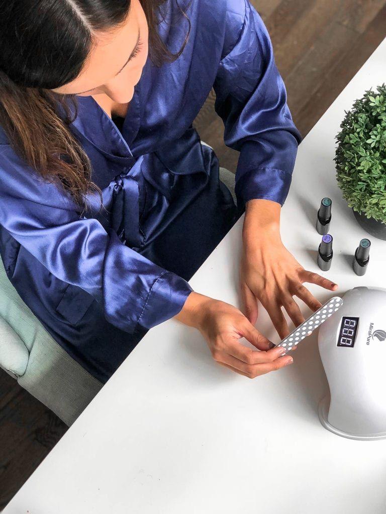 How to do gel nails at home gel nails at home nails at
