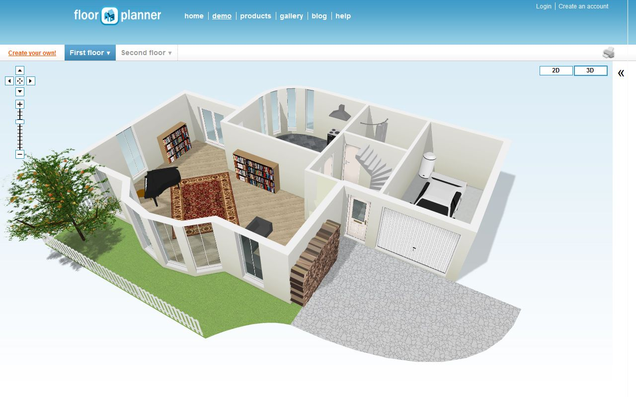 Exciting Free Room Design Online Of Room Planner App Displaying White Interior And Exterior Design Idea On Wall An Room Planner Online Design Exterior Design