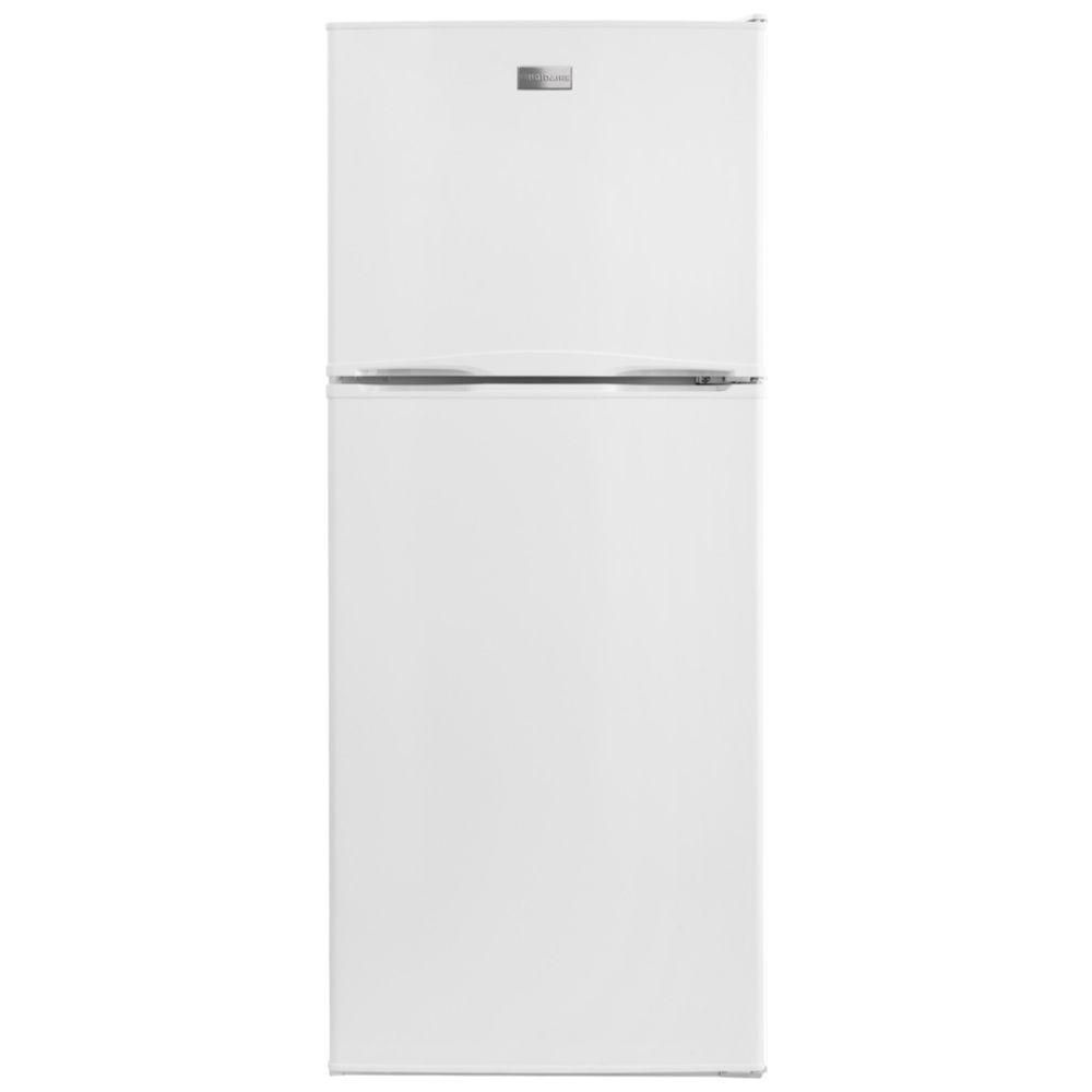 Frigidaire 12 Cu Ft Top Freezer Refrigerator In White Refrigerator Top Freezer Refrigerator Freezer
