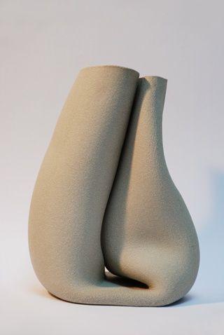 Pieke Bergmans Unlimited Edition Pottery Art Ceramic Art Clay Ceramics