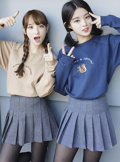 High Waist Pleated Tennis Skirt Mixxmix Korean Fashion Trends Fashion Korean Fashion Casual