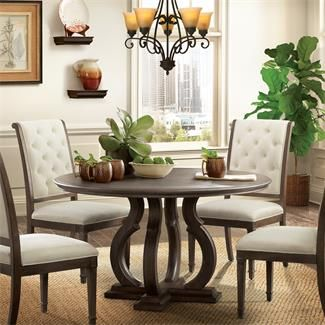 Verona Round Dining Table I Riverside Furniture