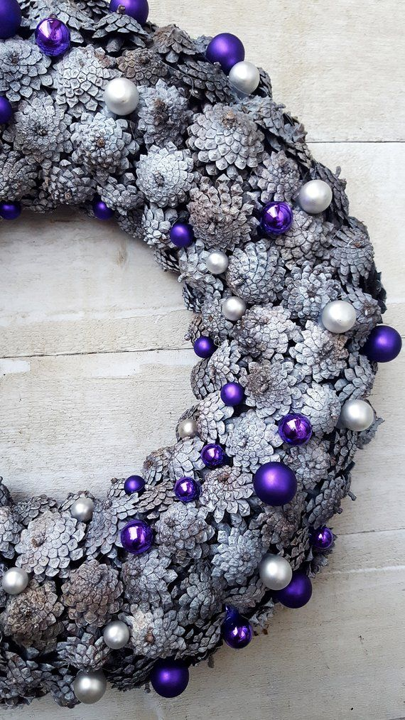 Items similar to SALE! Large Christmas wreath, Advent wreath, Pine cone wreath, Moss wreath, Holiday wreath, winter wreath, Natural advent wreath, on Etsy