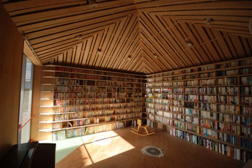 Ikushima Library in Japan by Atelier Bow-Wow Architects