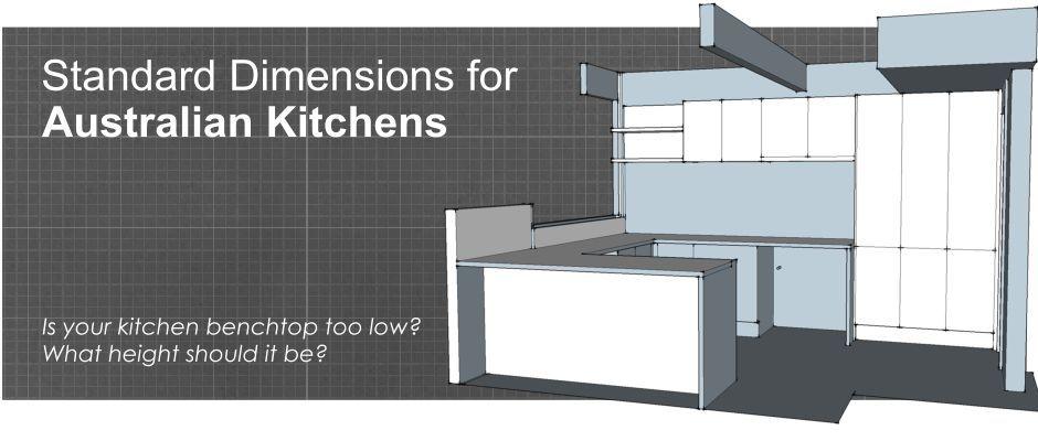Surprising Standard Dimensions For Australian Kitchens Kitchen Machost Co Dining Chair Design Ideas Machostcouk