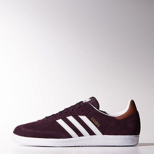 Adidas Originals Samba Shoes Men Rich Red