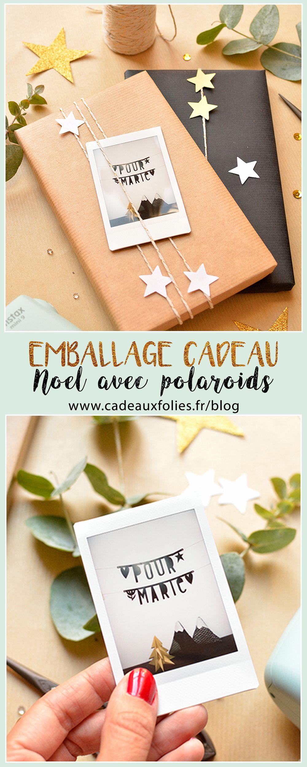Fabrique un magnifique emballage cadeau de Noël maison | Emballage cadeaux de noël, Cadeau noel ...