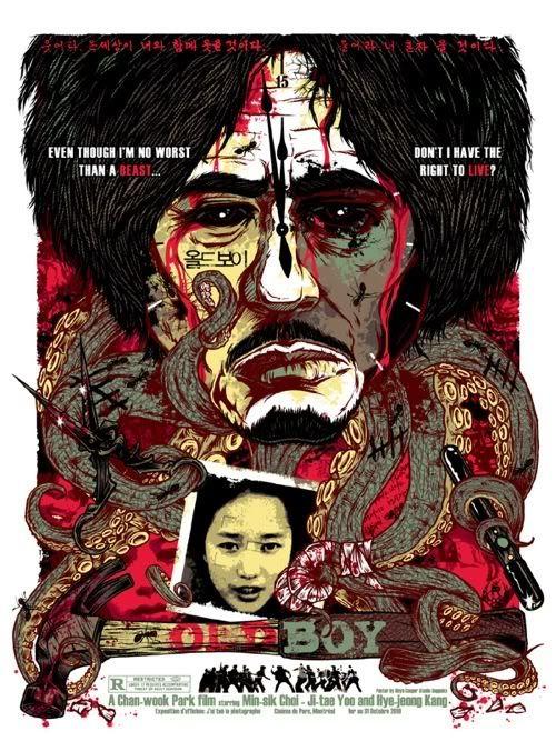Oldboy 2003 Movie Poster Art New Movie Posters Film Art
