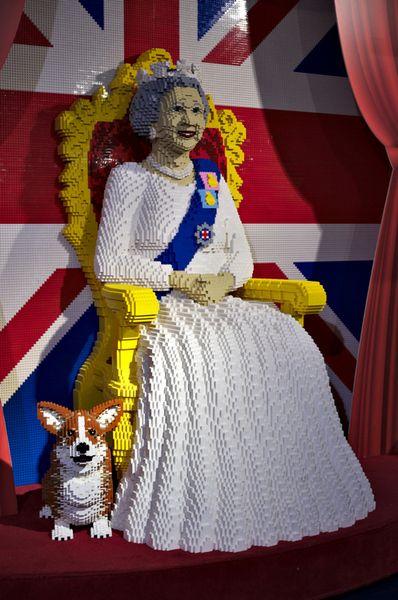 Lego Queen Elizabeth   Lego creations, Legos, Lego