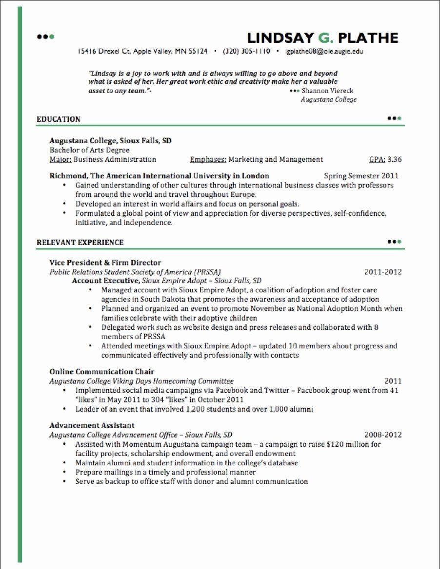 Entry Level Esthetician Resume Fresh Cosmetology Graduate