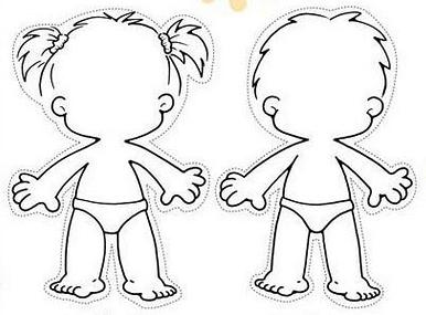 Figura Humana Niñas Y Niños Activ