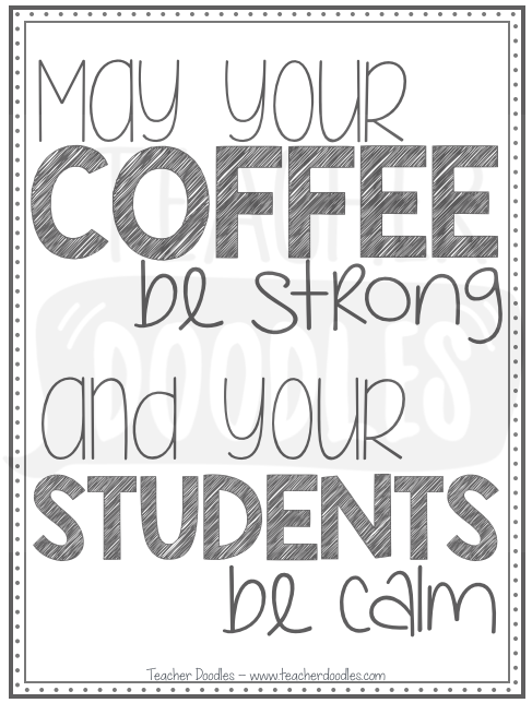Teacher Quote Posters