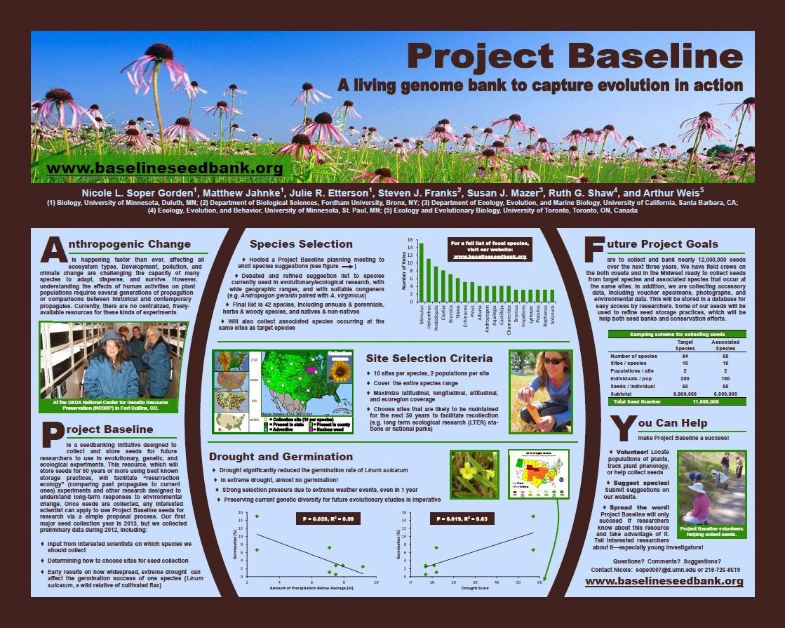 project baseline  a living genome bank to capture evolution in action