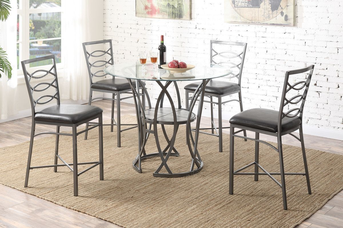 Poundex Dining Chair F1100 2Piece  Products  Pinterest  Products Beauteous 2 Piece Dining Room Set Decorating Design
