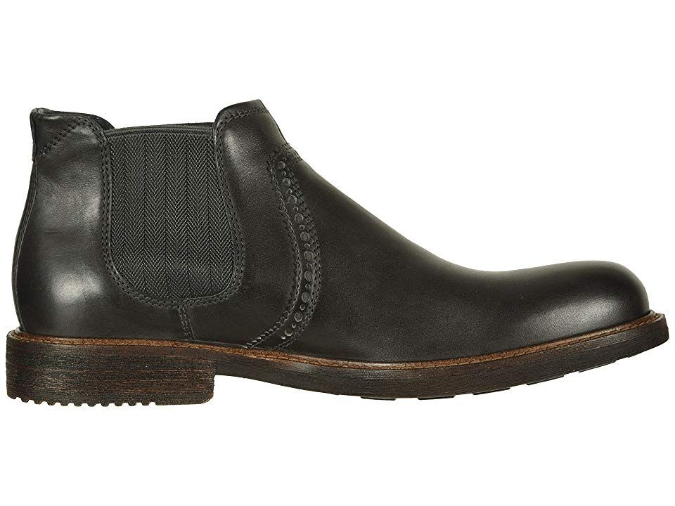 360837c9 ECCO Kenton Ankle Boot Men's Dress Pull-on Boots Moonless | Products ...