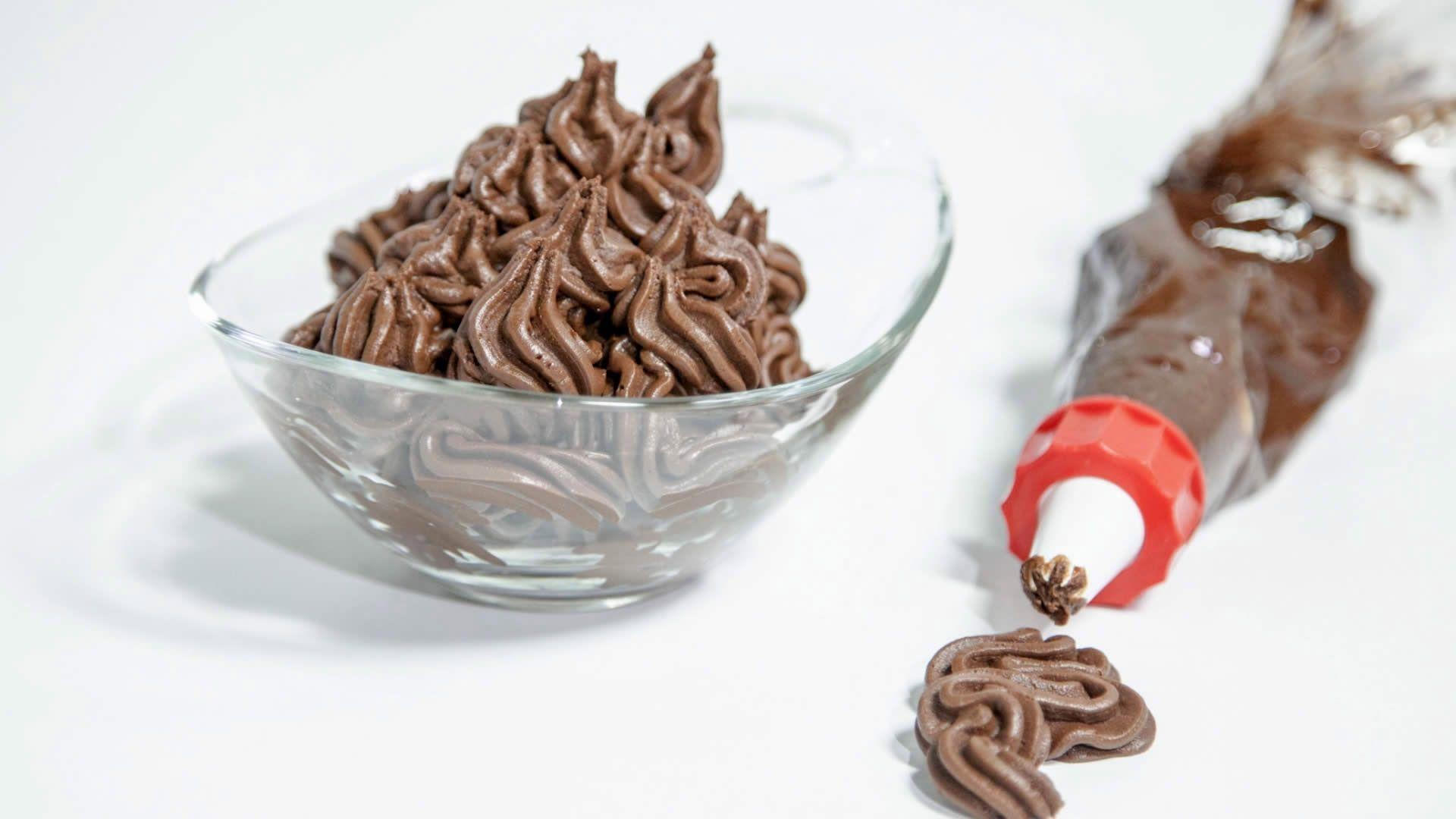Crema Ganache al Cioccolato (Senza Burro)