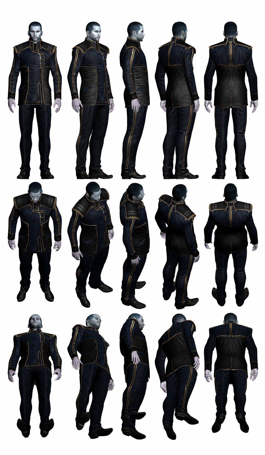 Mass Effect Alliance Soldier