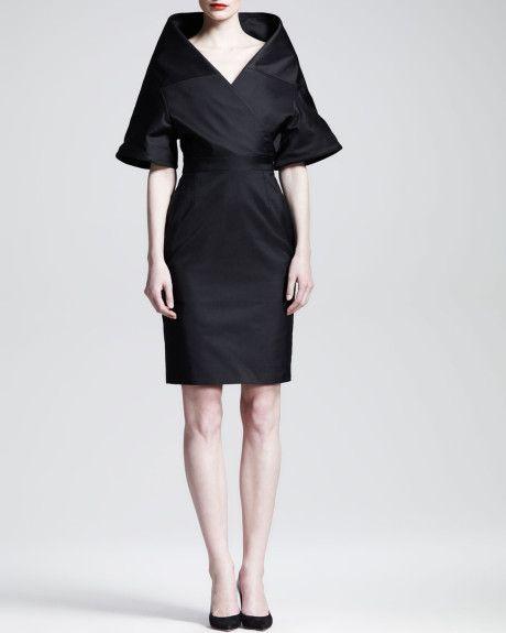 94540f1e7d Chalice Portrait Collar Dress - Lyst Modern Filipiniana Gown, Filipiniana  Wedding, Gareth Pugh,