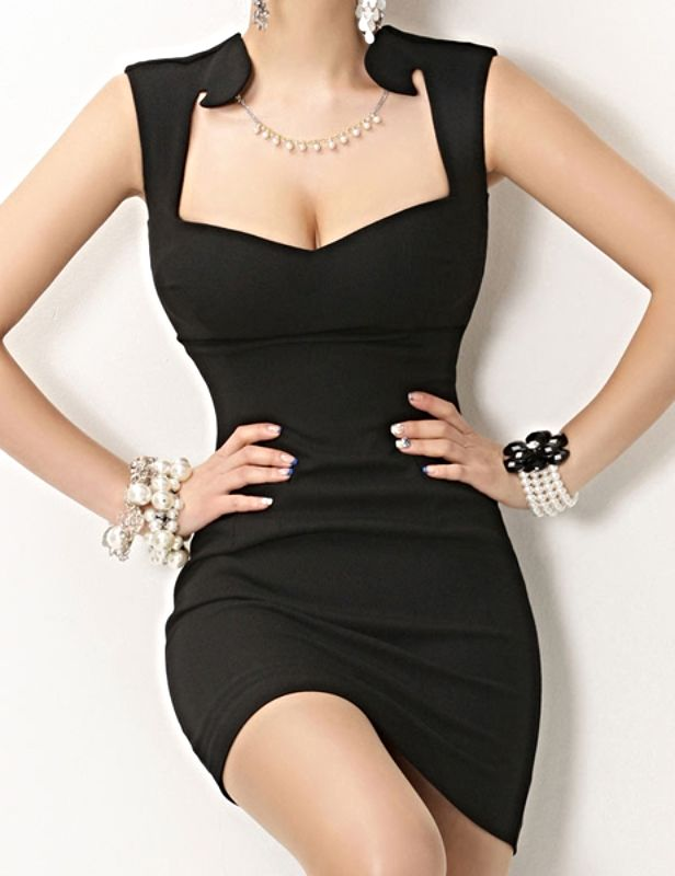 Long slim dresses
