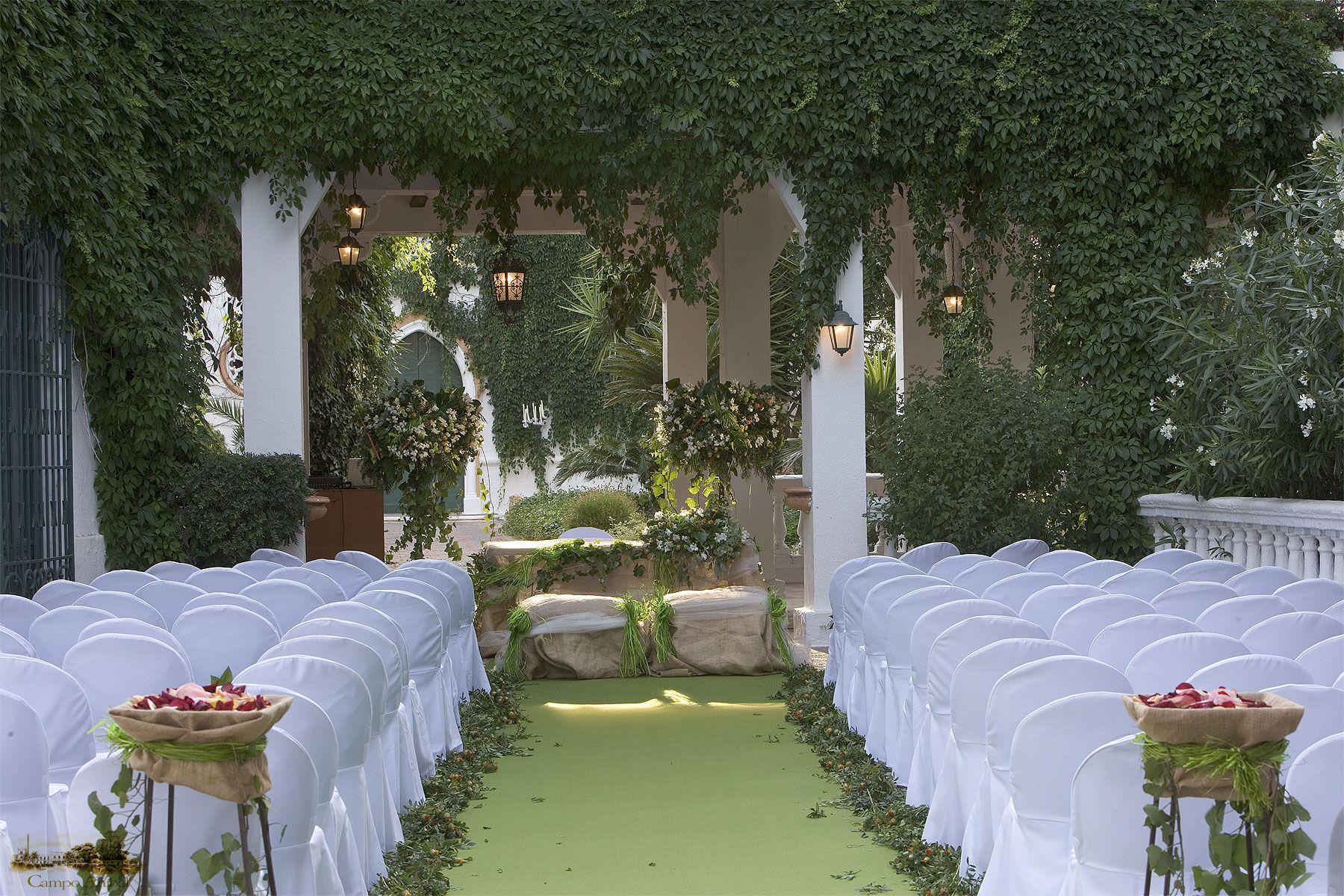 ceremonia civil entre naranjos