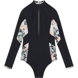 Photo of Chiemsee long-sleeved swimsuit with UV 50+, size M in deep black, size M in deep black Chiemsee