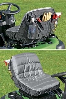 Really Smart Lawn Mower Seat Cover To Make Lawn Mower
