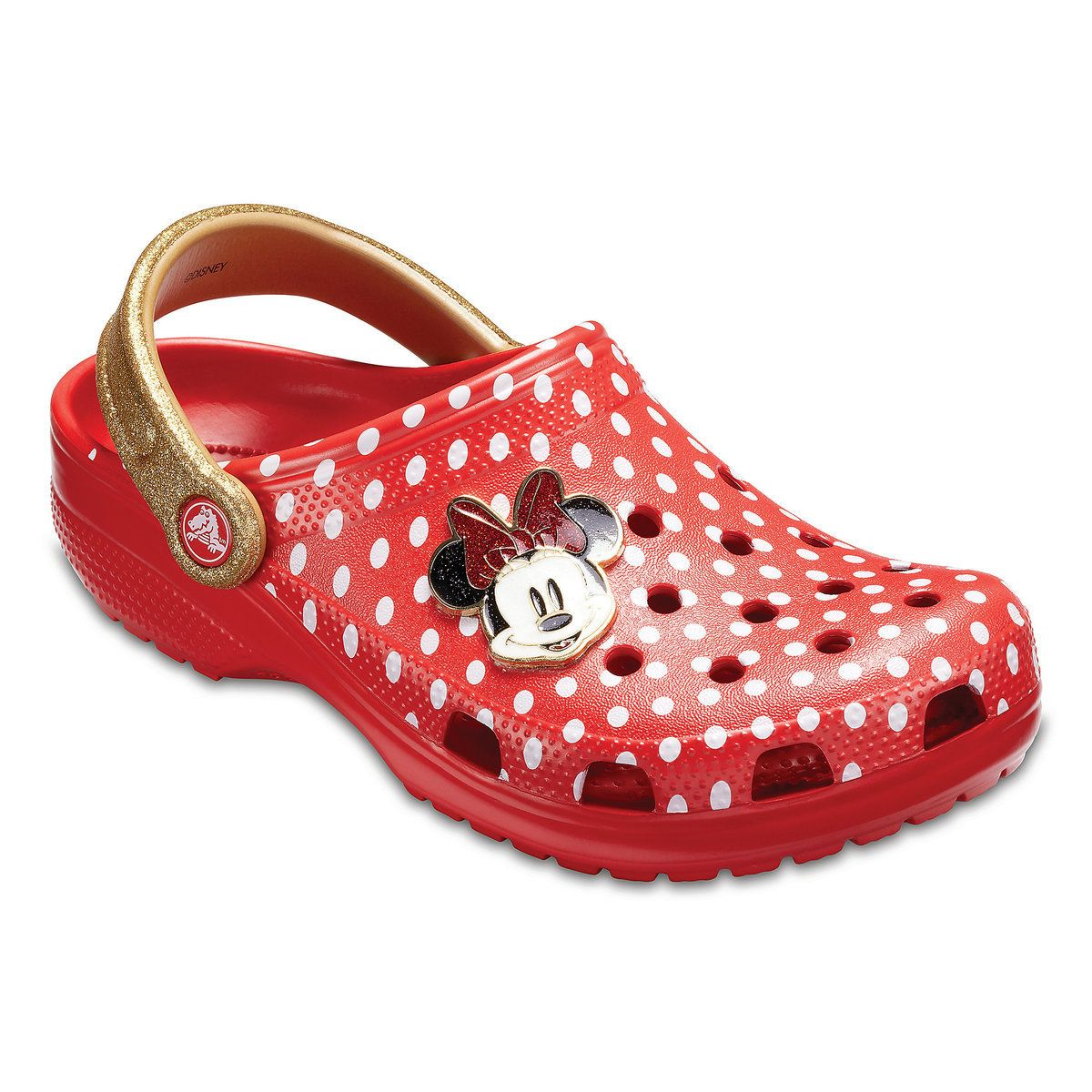 Crocs Womens Boys and Girls Minnie Dots Clog