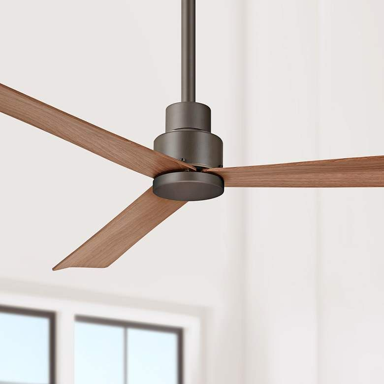52 Minka Aire Simple Oil Rubbed Bronze Ceiling Fan 1t107 Lamps Plus Bronze Ceiling Fan Simple Ceiling Fan Ceiling Fan Minka aire simple ceiling fan