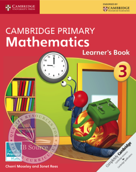 Cambridge Primary Mathematics Learner S Book 3 Cambridge Primary