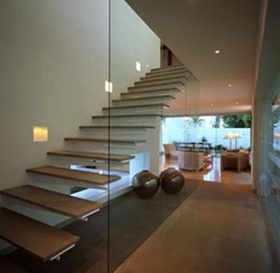 escaleras modernas acero piedra fachadas espacios casas comprar interiores