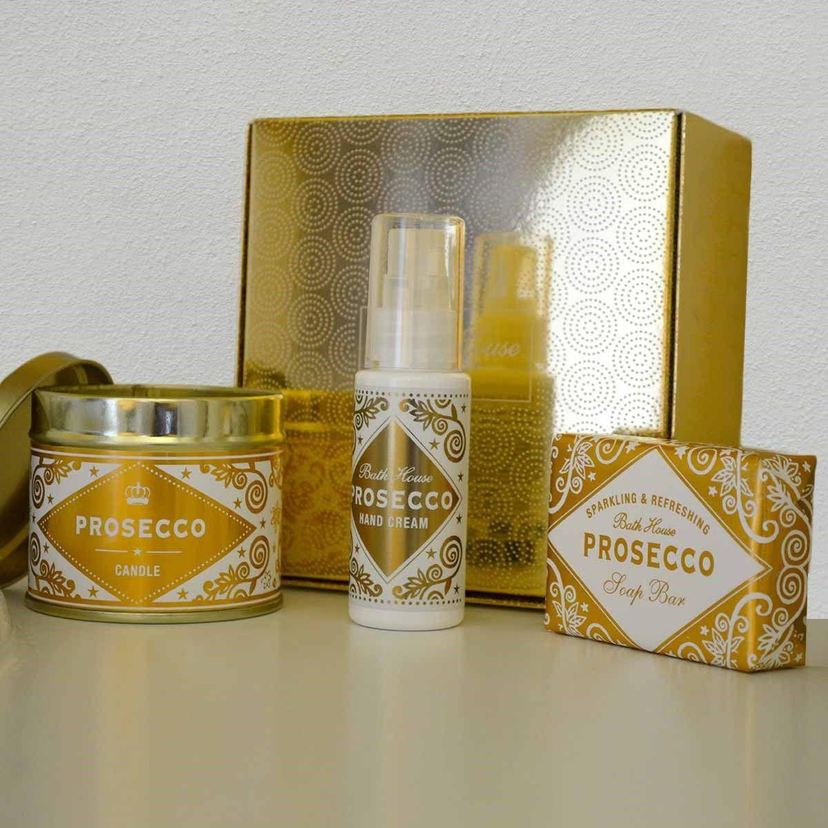 Exclusive Prosecco Pamper Set Prosecco, Prosecco candle