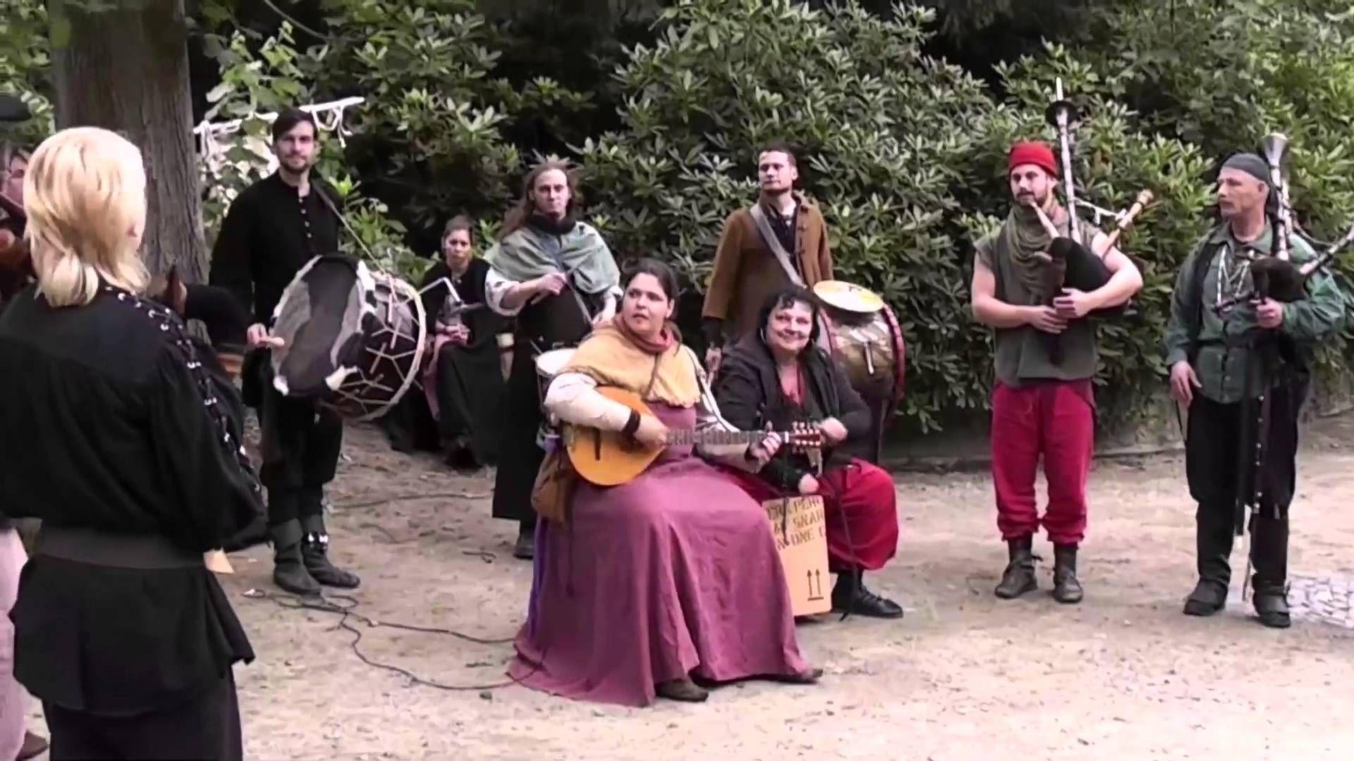 Mittelaltermarkt Zeven 2014 - Impressionen und Dudelorgie, Video von Docatius