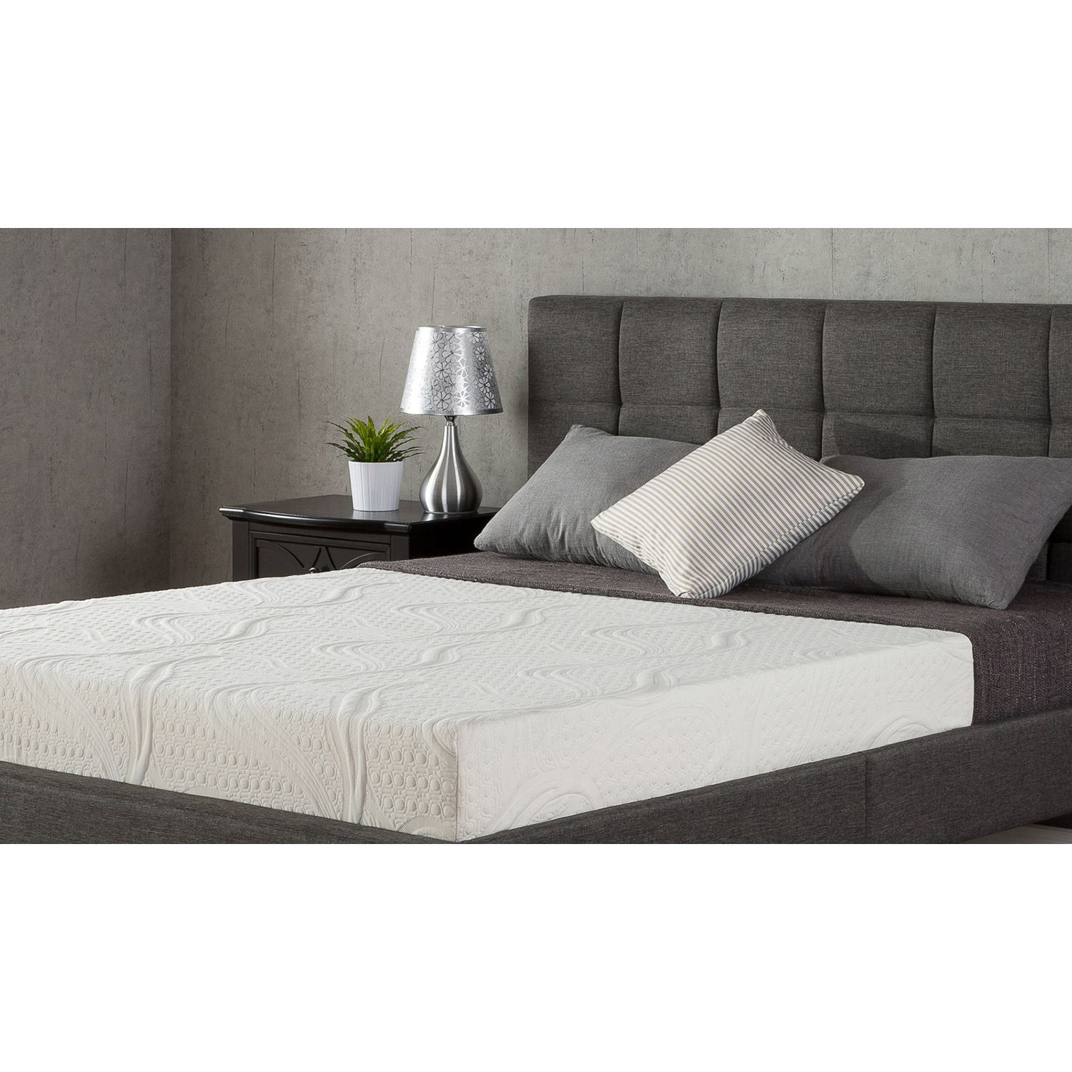 Night Therapy Memory Foam 8 Inch Pressure Relief Queen Mattress